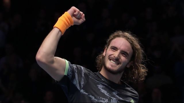 1-2: S.Tsitsipas (GRE) - R.Federer (SUI) (6-3, 6-4): Tsitsipas en finale [RTS]