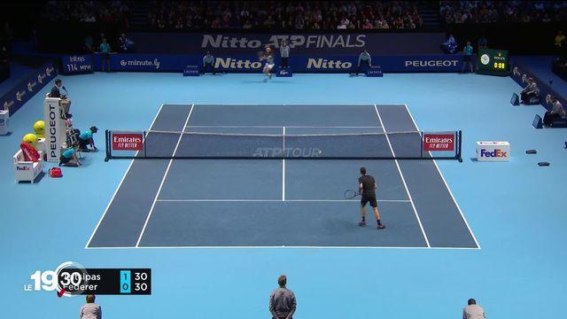 Aux Masters de Londres, pas de finale pour Federer qui plie face à Tsitsipas. [RTS]