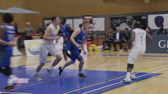 Basketball, Championnat de Suisse: Lions de Genève - Fribourg Olympic (73-76) [RTS]
