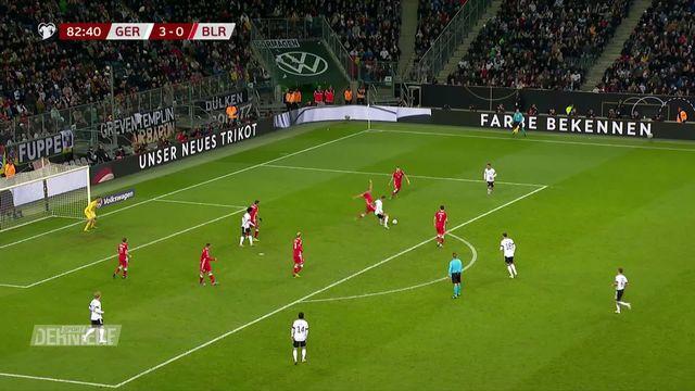 Qualifications Euro 2020: Allemagne - Biélorussie (4-0) [RTS]