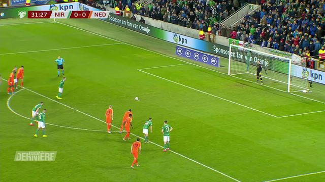 Qualifications Euro 2020: Irlande du Nord - Pays-Bas (0-0) [RTS]