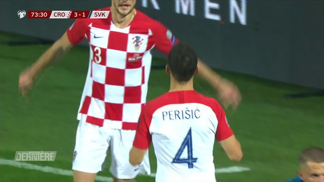 Qualifications Euro 2020: Croatie - Slovaquie (3-1) [RTS]