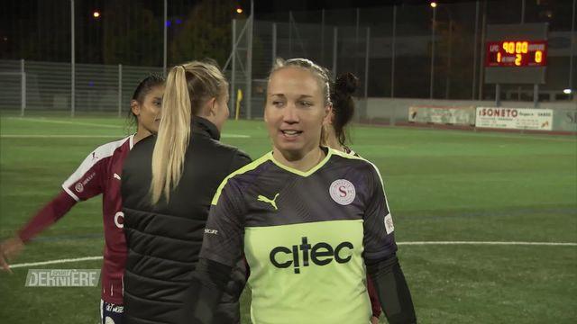 Football, Championnat de Suisse féminin: Servette FC Chênois - FC Lucerne [RTS]