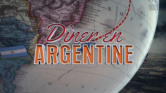 Le Dîner en Argentine. [RTS]