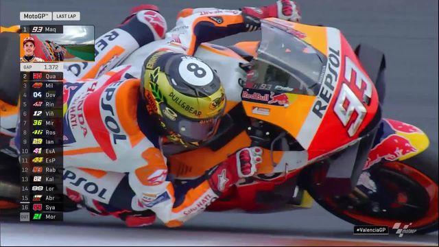 GP de Valence (#18), MotoGP: victoire de Marc Marquez (ESP) [RTS]