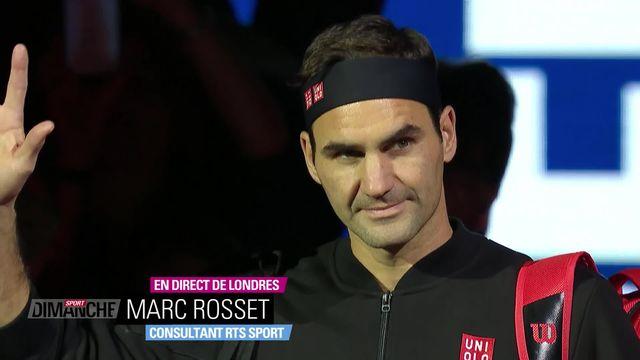 Tennis, ATP de Londres: retour sur la défaite de Roger Federer [RTS]