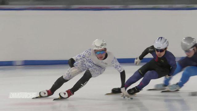 JOJ 2020: Thibault Metraux représentera la Suisse en Short-Track [RTS]