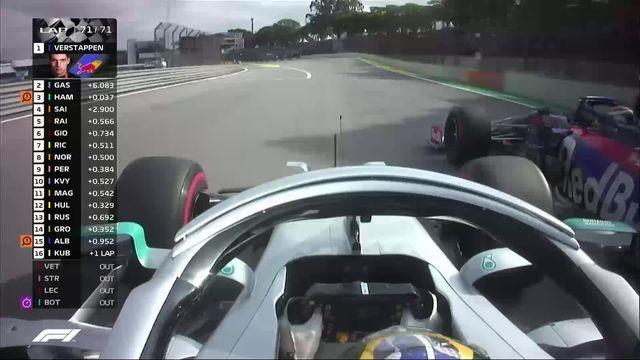GP du Brésil: Victoire de Verstappen (BEL) s'impose devant Gasly (FRA) [RTS]