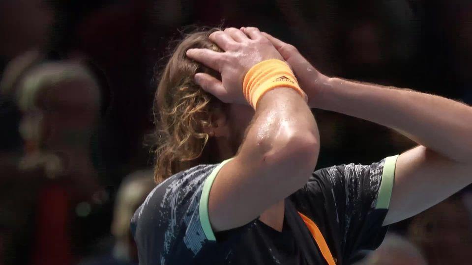 Finale: S.Tsitsipas (GRE) - D.Thiem (AUT) (6-7, 6-2, 7-6): Tsitsipas remporte le Masters 2019 [RTS]