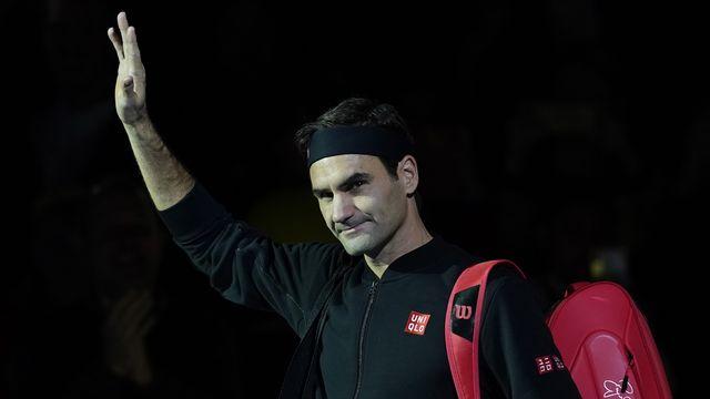 Roger Federer termine la saison à la 3e place du classement ATP. [Will Oliver - Keystone]