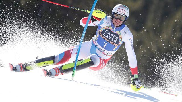 Slalom messieurs 2019-2020 [Guillaume Horcajuelo - Keystone]