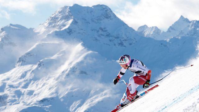 Super G dames 2019-2020 [Jean-Christophe Bott - Keystone]