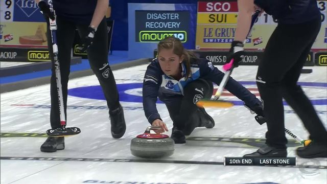 Helsinborg (SWE), Ecosse - Suisse dames (9-8): les Suissesses s'inclinent pour la première fois du tournoi [RTS]