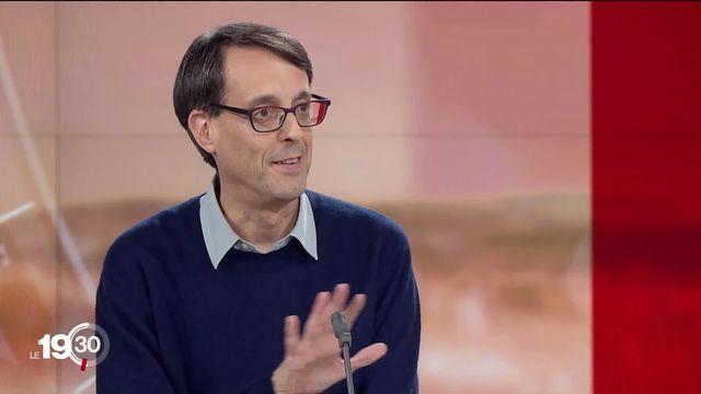 """Luca Gabbiani : """"La Chine appuie ces mesures sur un discours anti-terroriste"""" [RTS]"""