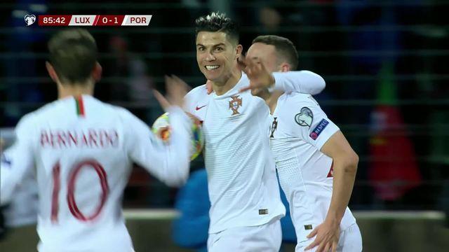 Gr.B, Luxembourg - Portugal (0-2): le résumé du match [RTS]