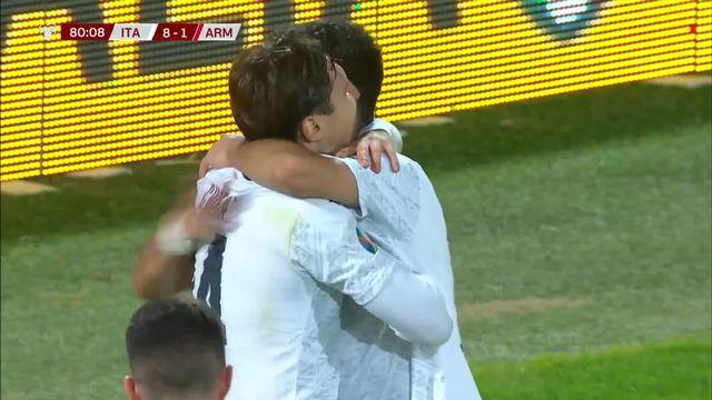 Gr.J, Italie - Arménie (9-1): le résumé du match [RTS]