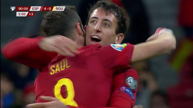Gr.F, Espagne - Roumanie (5-0): le résumé du match [RTS]