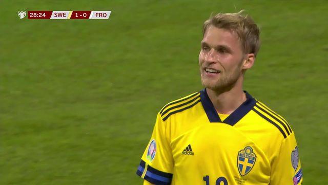 Gr.F, Suède - Iles Féroé (3-0): le résumé du match [RTS]