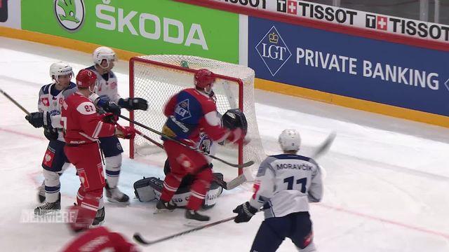 Hockey: Ligue des Champions, résumé de LHC - Plzen (4-4ap) [RTS]