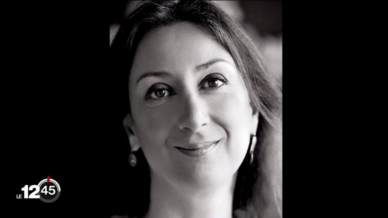 Malte: arrestation d'un homme d'affaires deux ans après la mort de Daphne Caruana Galizia. [RTS]