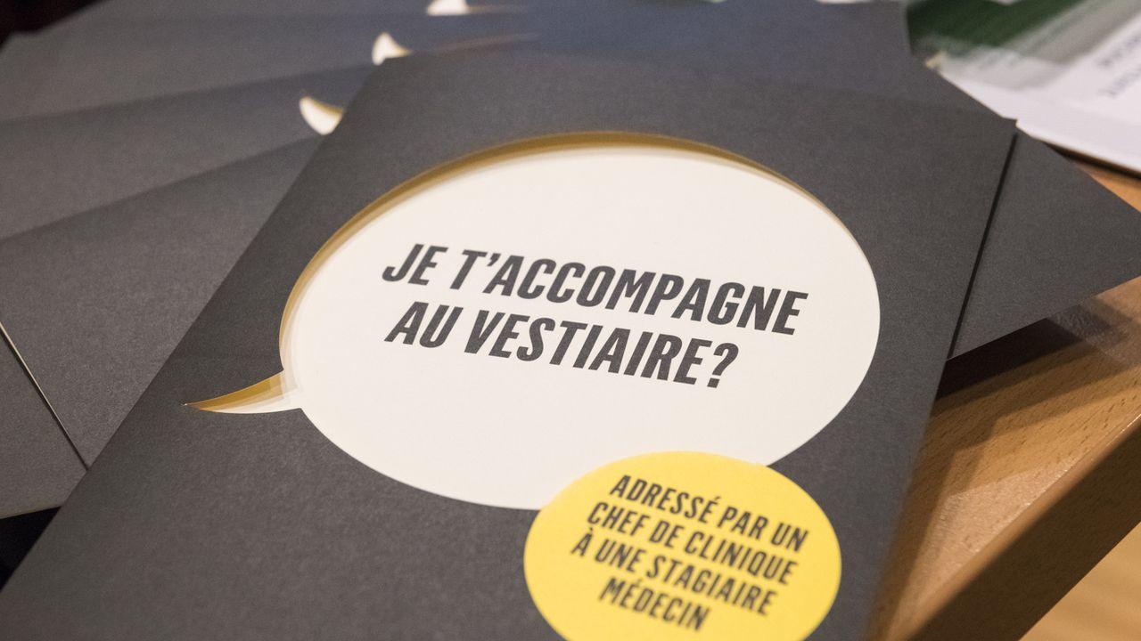 Le CHUV à Lausanne avait lancé l'année dernière une campagne contre le sexisme et le harcèlement sexuel à l'hôpital. [Adrien Perritaz - Keystone]