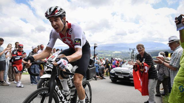 Cyclisme: l'équipe nationale à nouveau en lice au Tour de Suisse