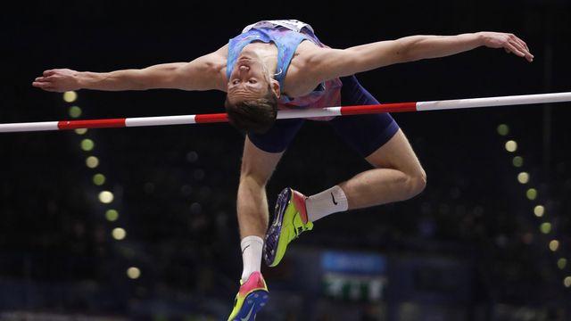 Le sauteur en hauteur Danil Lysenko était au coeur d'une enquête. [Matt Dunham - AP]