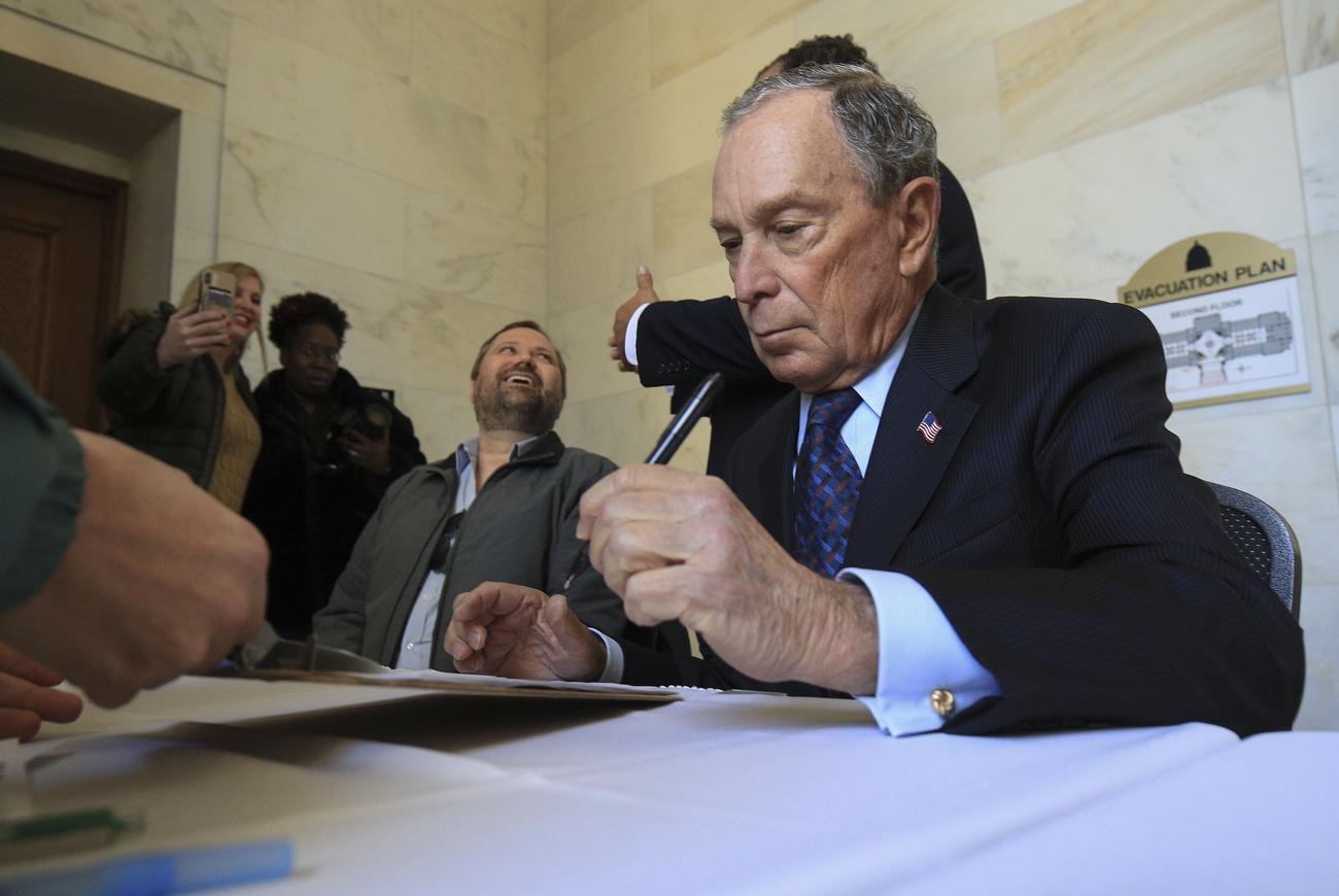 Le milliardaire Michael Bloomberg candidat à la Maison Blanche