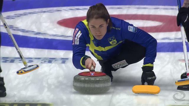 Helsingborg (SWE), 1-2 finales dames, Suède - Russie (9-3): la Suède en finale devant son public [RTS]