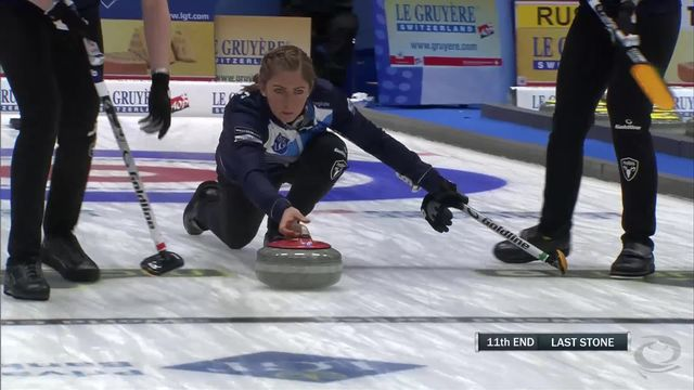 Helsingborg (SWE), 1-2 finales dames, Suisse - Ecosse (3-2): les Suissesses ratent la qualification pour la finale [RTS]