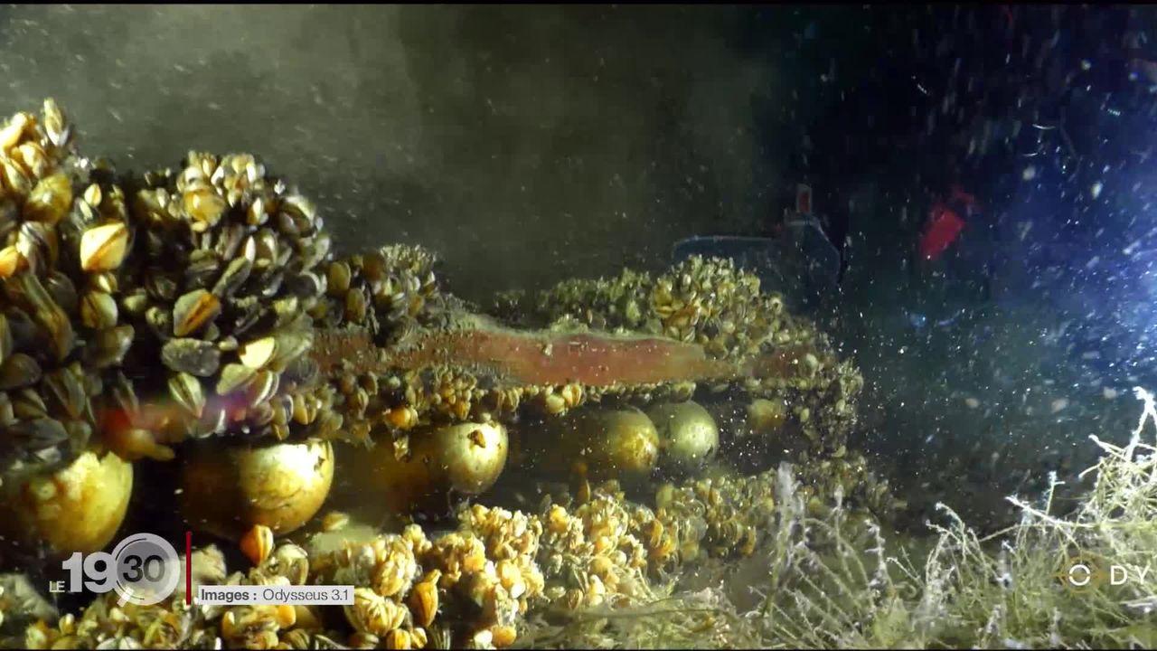 Munitions à l'abandon dans le Léman: des images tournées par des plongeurs inquiètent [RTS]