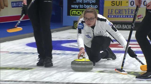 Helsingbord (SWE), petite finale dames, Suisse - Russie (6-5): le bronze pour les Suissesses! [RTS]