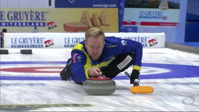 Finale, Suède - Suisse 6-1: incroyable pierre des Suédois [RTS]