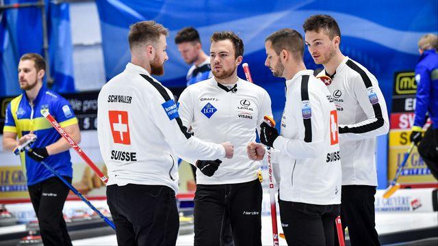 L'équipe de Suisse peut se montrer satisfaite de son tournoi. [Jonas EKSTROMER - AFP]