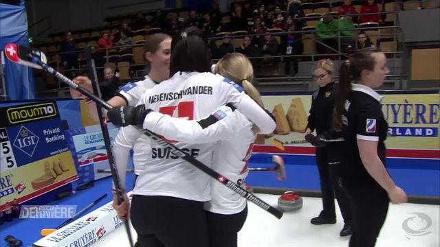 Curling, Européens: les Suissesses en bronze [RTS]