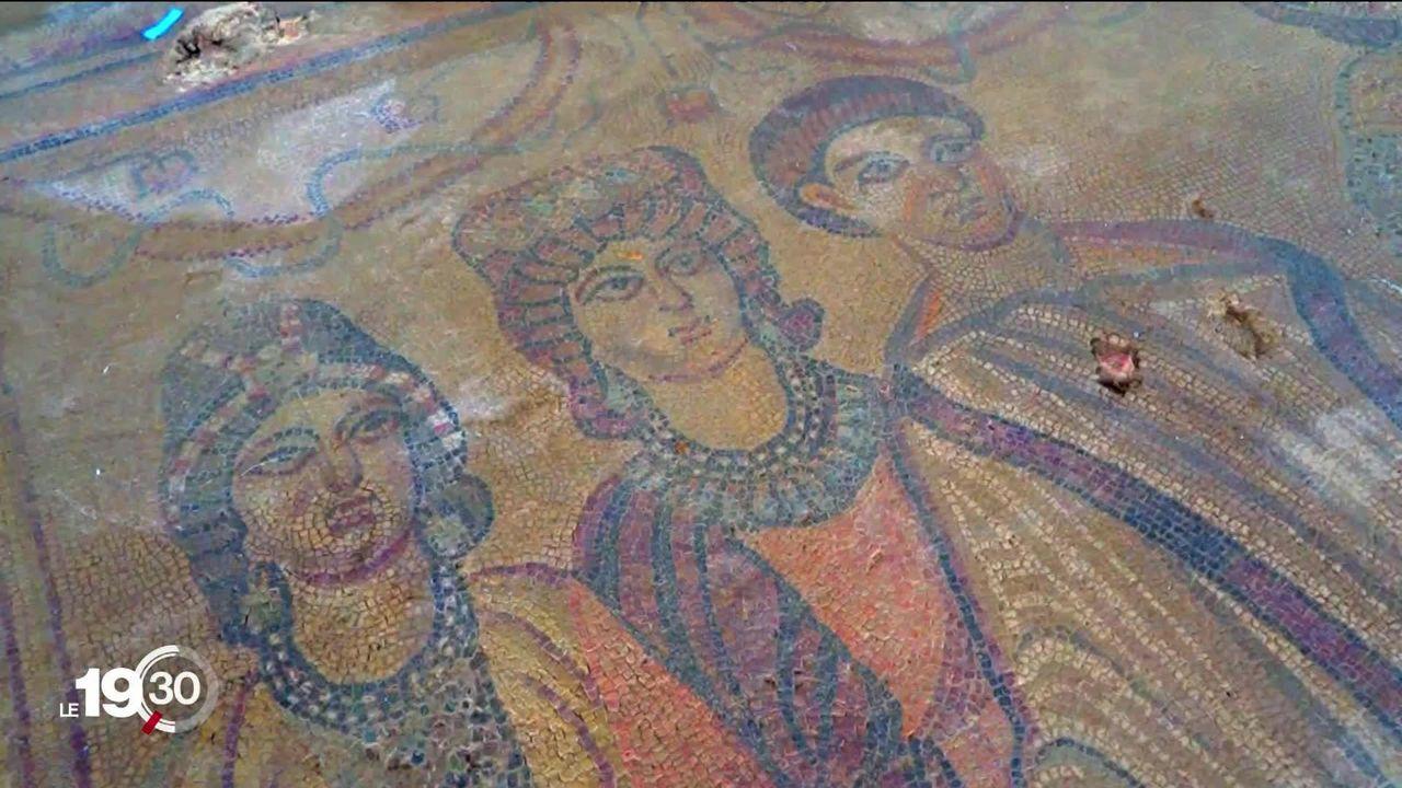 En Espagne, la découverte d'une villa romaine du 4ème siècle est comparée à celle de Pompei. [RTS]
