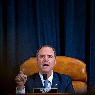 Adam Schiff, responsable démocrate de l'enquête pour une procédure de destitution visant Donald Trump. [Andrew Harrer - AFP]