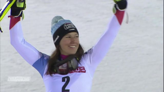 Ski alpin, Levi: Wendy Holdener 2e derrière Mikaela Shiffrin [RTS]
