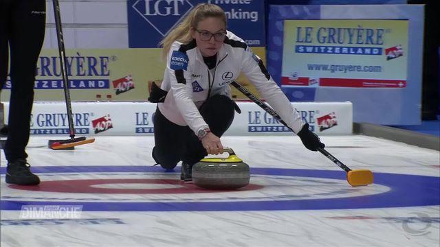 Curling, Européens: Objectif rempli pour les Suisses [RTS]
