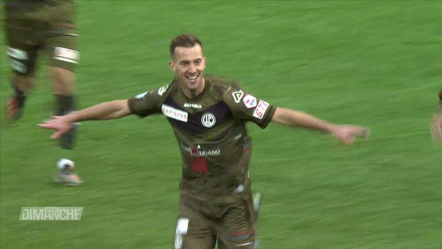 Super League, 15e j.: Thoune - Lugano (0-3) [RTS]