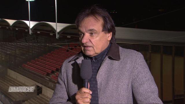 Super League, Sion - Young-Boys: entretien avec Christian Constantin, première partie [RTS]