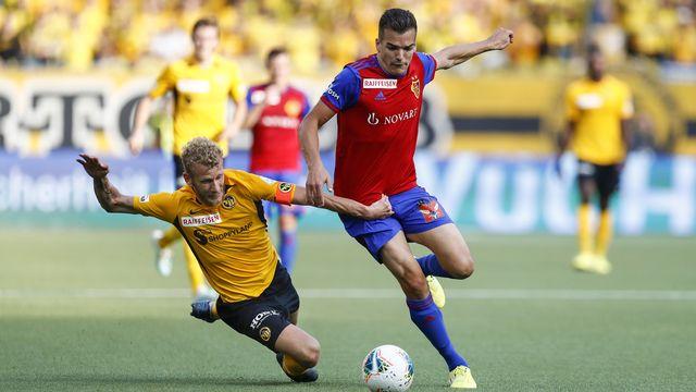 Kevin Bua a porté pendant une saison les couleurs du FC Zurich avant de rejoindre Bâle en 2016. [Peter Klaunzer - Keystone]