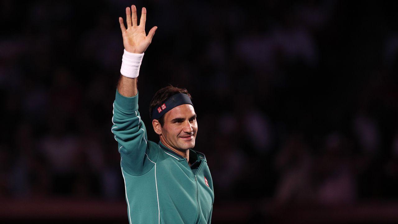 Roger Federer a investi dans une marque de chaussures suisse. [Rebecca Blackwell - Keystone]