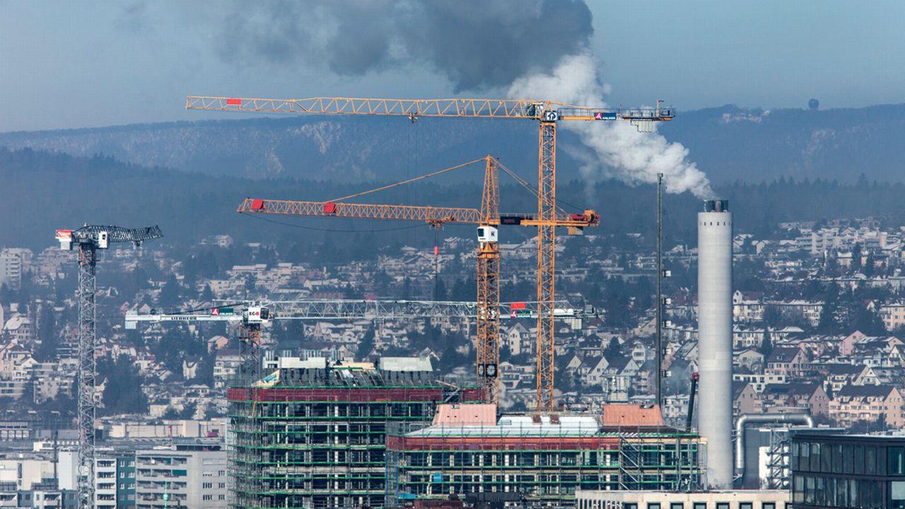 Record de concentrations de gaz à effet de serre en 2018 [Gaëtan Bally - Keystone]