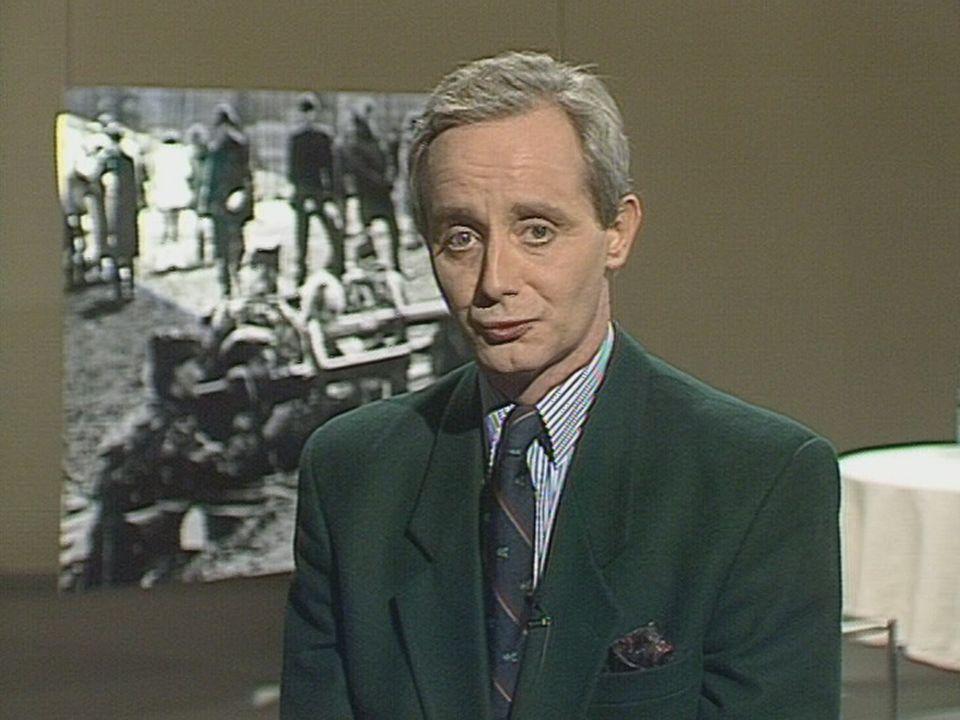 Le journaliste Daniel Pasche. [RTS]