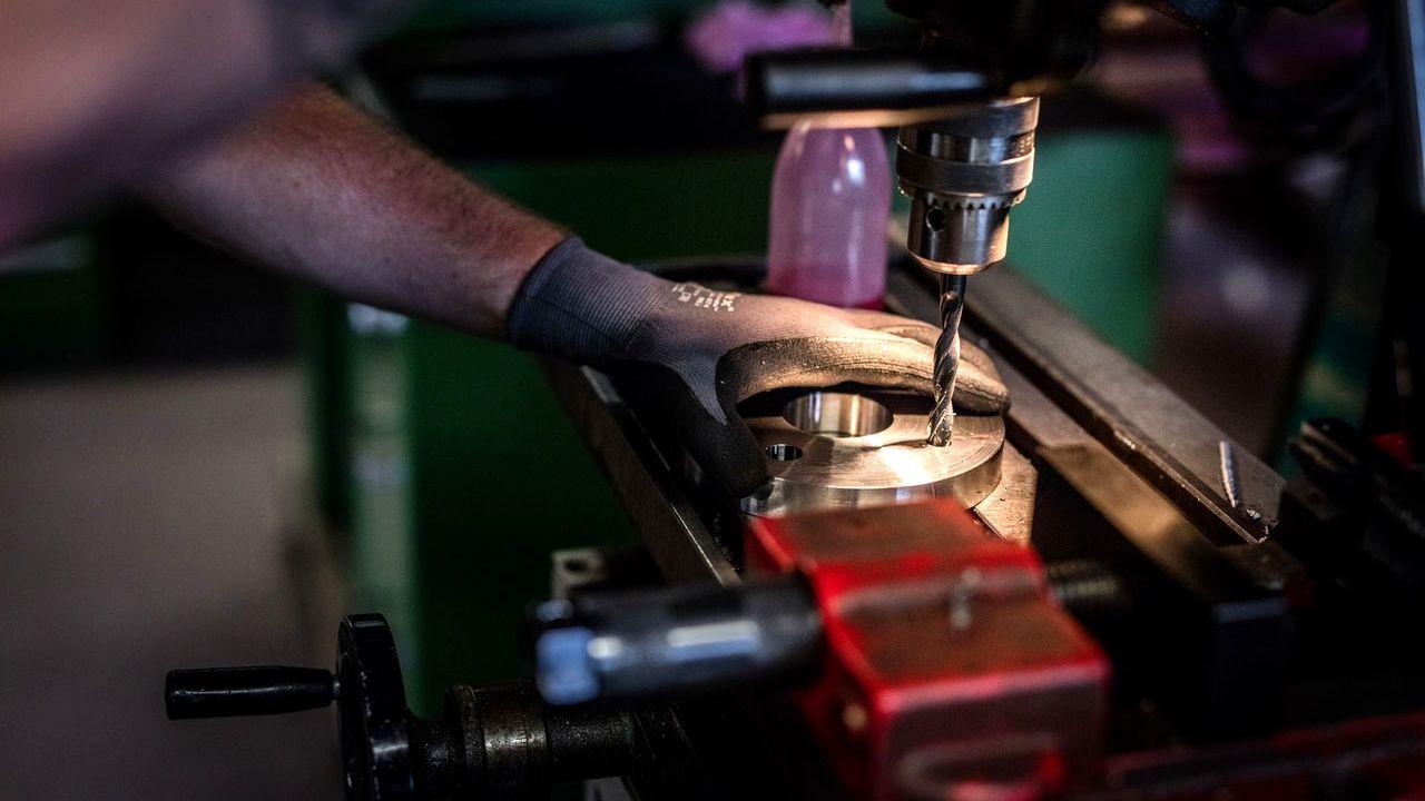 Société active dans la sous-traitance mécanique, Alpin Mécanique emploie 20 personnes à Sierre. [Alpin Mécanique]