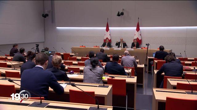 Votation du 9 février 2020: le Conseil Fédéral lançait ce matin sa campagne contre l'initive de l'ASLOCA . [RTS]