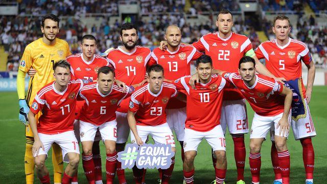 Les footballeurs russes devraient bien pouvoir disputer l'Euro l'été prochain. [Katja Christodoulou - Keystone]