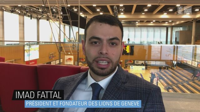 Imad Fattal (président des Lions de Genève): 10 ans, 10 titres [RTS]