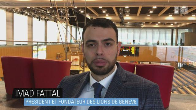 Imad Fattal (président des Lions de Genève): la rivalité de Fribourg Olympic [RTS]